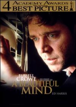 A Beautiful Mind - DVD cover
