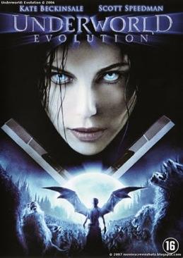 Underworld: Evolution - HD DVD cover