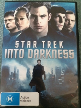 Star Trek Into Darkness - DVD cover
