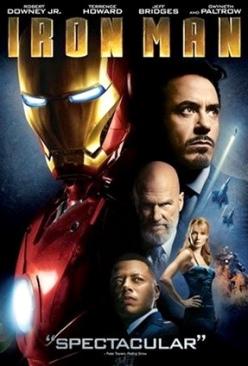 Iron Man 1 - DVD cover