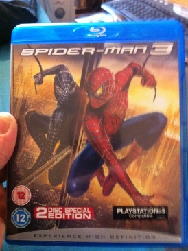 Spider-Man 3 - Blu-ray cover