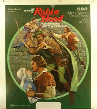 The Adventures of Robin Hood - CED cover