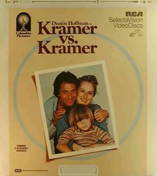 Kramer vs. Kramer - CED cover