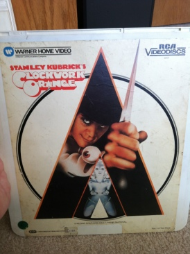 A Clockwork Orange - CED cover