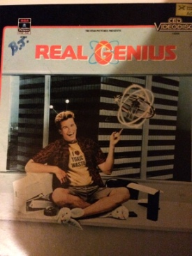 Real Genius - CED cover