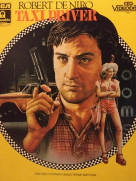 Taxi Driver - CED cover