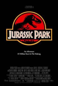 Jurassic Park - Blu-ray cover