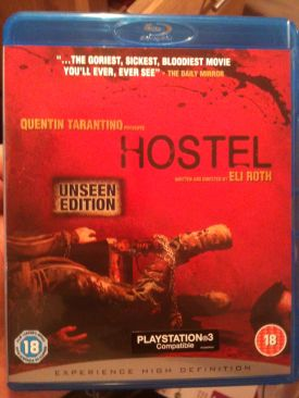 Hostel - Blu-ray cover