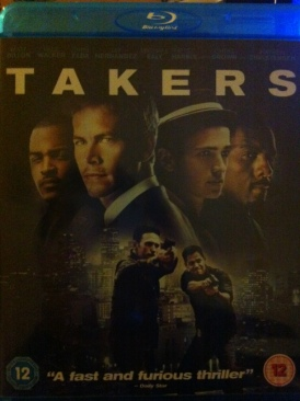Takers - Blu-ray cover