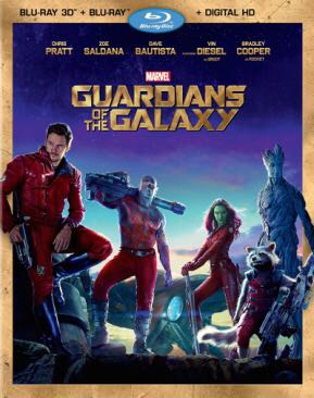 Guardians of the Galaxy - DVD cover