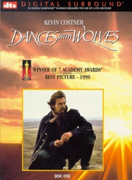 Dances with Wolves - DVD-R cover
