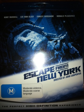 Escape from New York - Digital Copy cover
