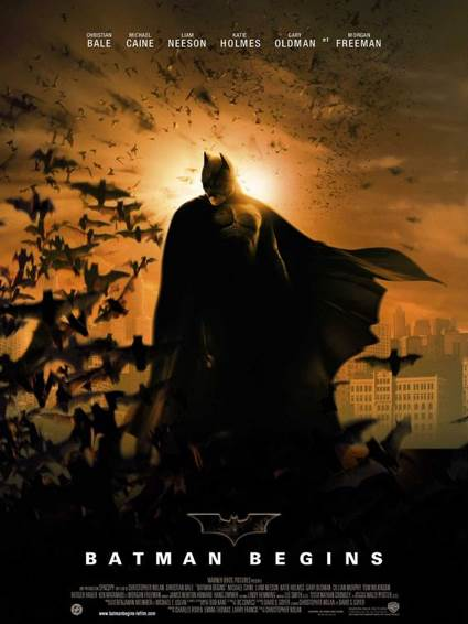 Batman Begins - Laser Disc cover