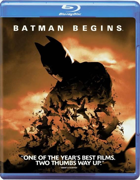 BatMan Begins - Blu-ray cover