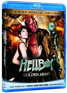 Hellboy II: The Golden Army - Blu-ray cover
