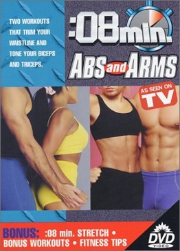 Exercise: 8 Minute Abs and Arms - DVD cover