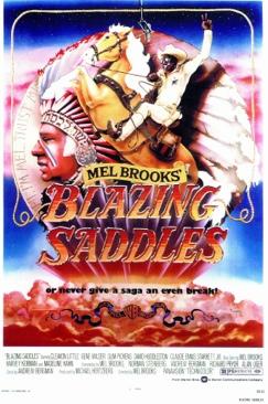 Blazing Saddles - Betamax cover