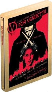 V for Vendetta - Blu-ray cover