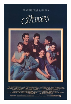 The Outsiders - VHS cover