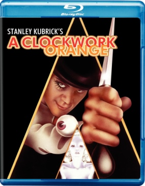 Clockwork Orange - Blu-ray cover