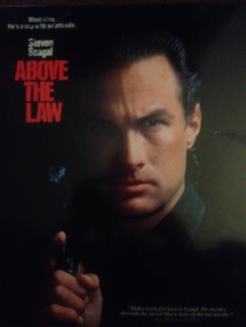 Above the Law - Laser Disc cover