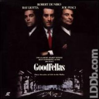 Goodfellas - Laser Disc cover
