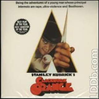 A Clockwork Orange - Laser Disc cover