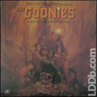 The Goonies - Laser Disc cover