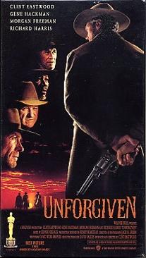 Unforgiven - VHS cover