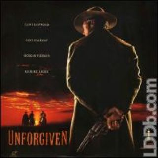 Unforgiven - Laser Disc cover