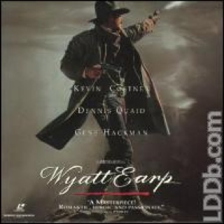 Wyatt Earp - Laser Disc cover