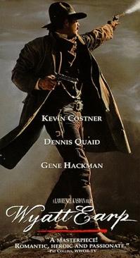 Wyatt Earp - VHS cover