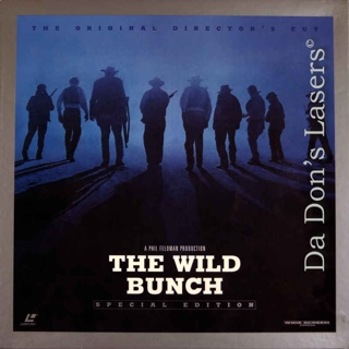 The Wild Bunch - Laser Disc cover