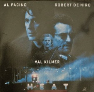 Heat - Laser Disc cover