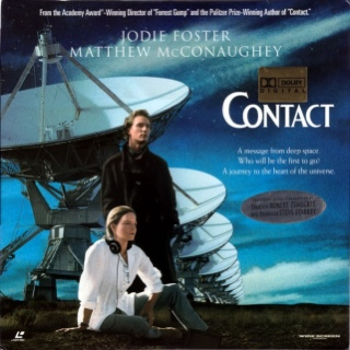 Contact - Laser Disc cover