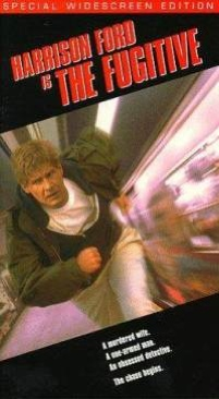 The Fugitive - VHS cover