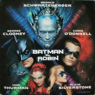 Batman & Robin - Laser Disc cover