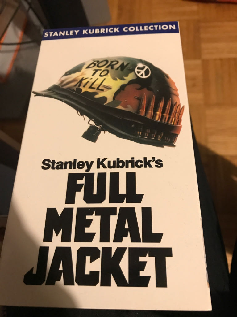 Full Metal Jacket -  cover