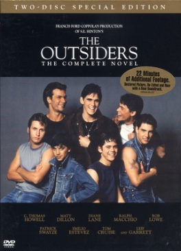 The Outsiders: The Complete Novel - DVD cover