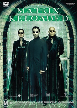 The Matrix Reloaded - DVD cover