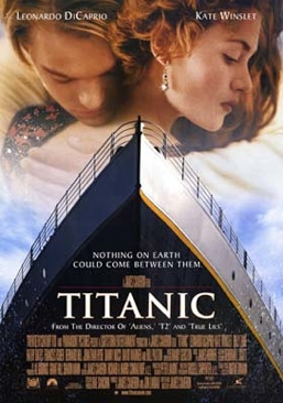 Titanic - DVD cover
