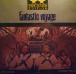 Fantastic Voyage - Laser Disc cover