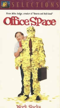 Office Space - VHS cover