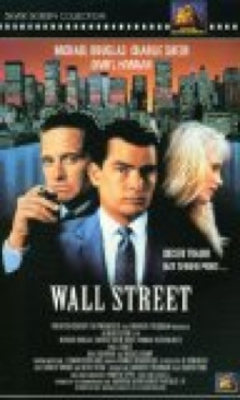 Wall Street - VHS cover