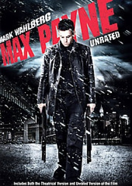 Max Payne - DVD cover