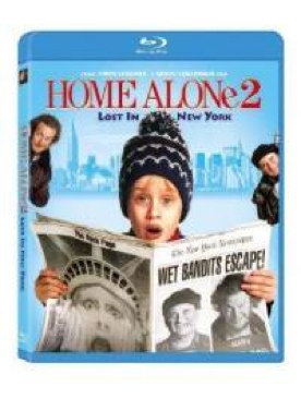Home Alone 2: Lost in New York - Blu-ray cover