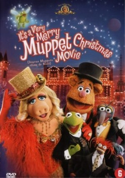Its a Very Merry Muppet Christmas Movie - DVD cover