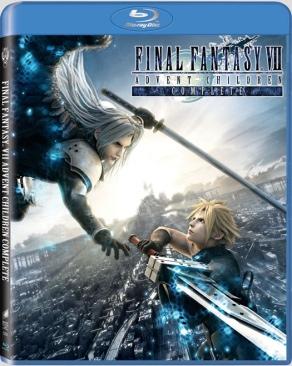 Final Fantasy VII: Advent Children - Blu-ray cover
