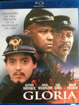 Glory - Blu-ray cover