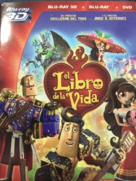 Libro De La Vida, El - Blu-ray cover